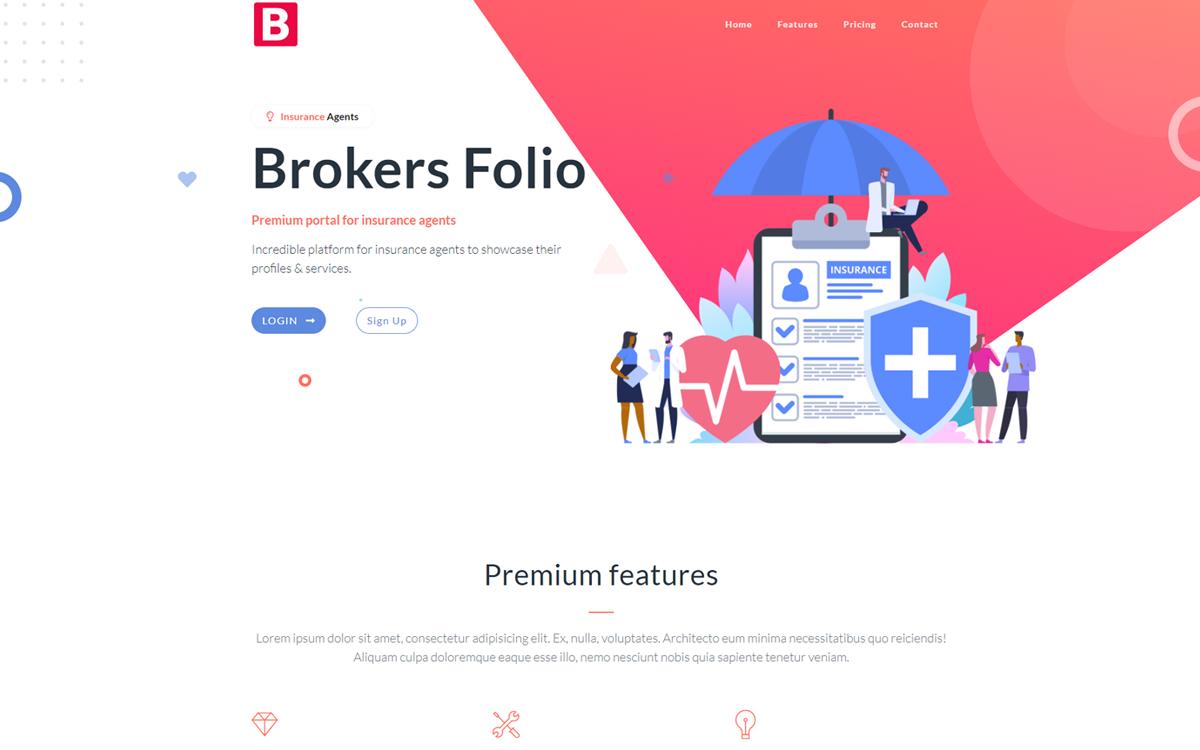 Blurb Insurance Software